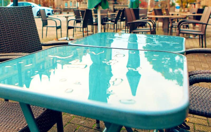 How To Protect Terrace Furniture From The Rain